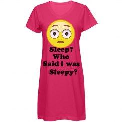Who said nightshirt