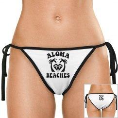 Aloha Beaches Tie Bikini Bottom