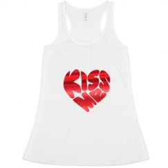Kiss Me Tank Top for  Her