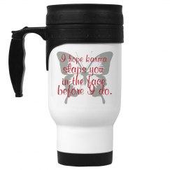 karma coffee cup