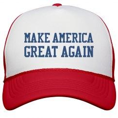 Trump 2016 'Merica Trucker