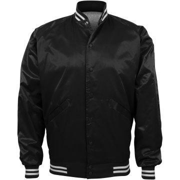 Plain Black Bomber Jacket: Gifts for all occasions