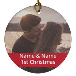 Custom Couples 1st Christmas
