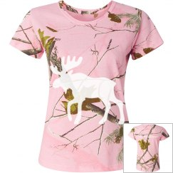 Moose Lover Pink Camo