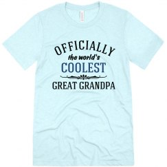 Coolest Great Grandpa shirt
