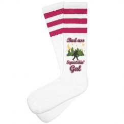 Bad A$$ Squatchin' Gal Socks