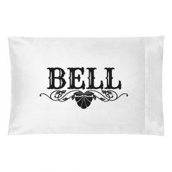 BELL. Pillow case