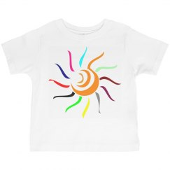 Colorful Sun Tee