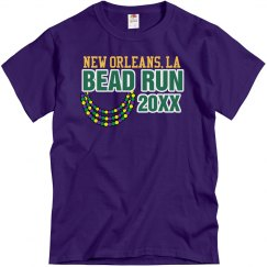 Bead Run Mardi Gras