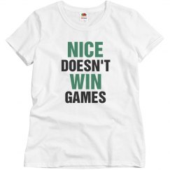 Nice doesn't win games