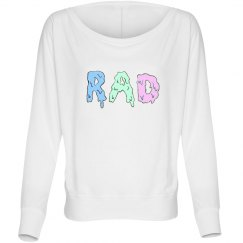 """Rad"" Pastel Dolman Top"