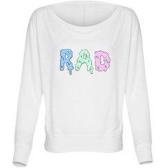 """""""Rad"""" Pastel Dolman Top"""
