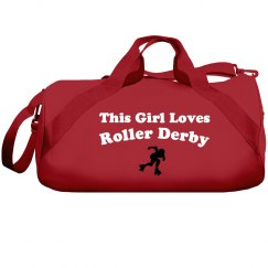 Girl loves roller derby