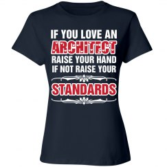 If you love an architect raise your hand shirt