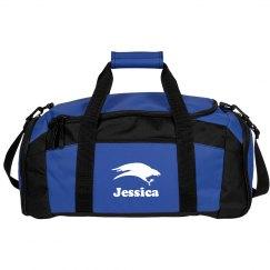 Custom School Colors Sports Bag