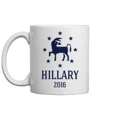 Hillary Clinton Democratic Mug