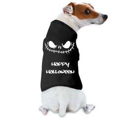 Happy Halloween Skull Dog Shirt