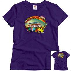 Groovy Hippy Van