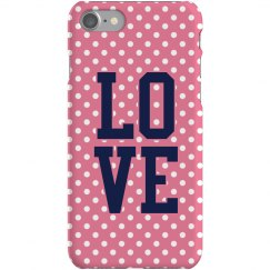Polkadot iPhone Case