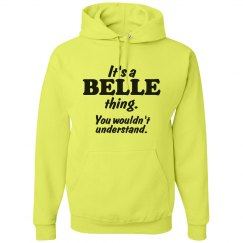 It's a Belle thing!