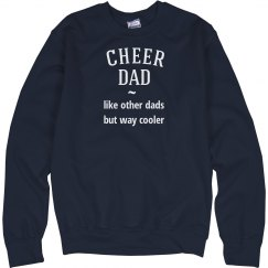 Cheer dad way cooler