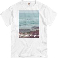 Kindness is free Sky wave sand