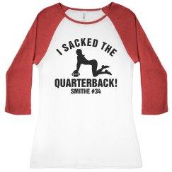 Football Girlfriend Sack