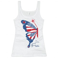 Patriotic Butterfly Tank