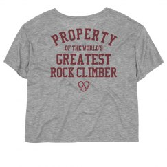 Property of the world's greatest rock climber