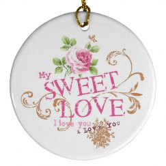 Sweet Love Ornament