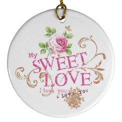 Sweet Love Ornament