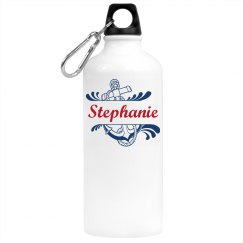 Anchor with name water bottle