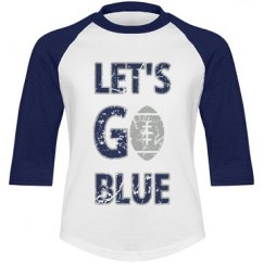 Youth Let's Go BLUE