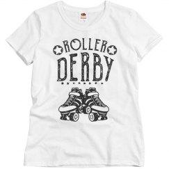 Vintage Roller Derby Tee