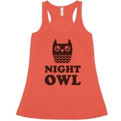 Glassy Eyed Night Owl