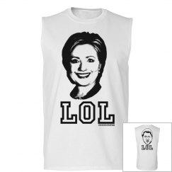 Hillary and Bill Clinton LOL