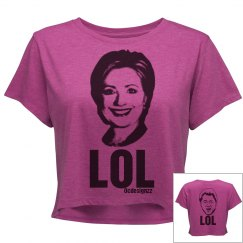Hillary Clinton LOL Crop q