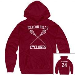 Stilinski Lacrosse Hoodie