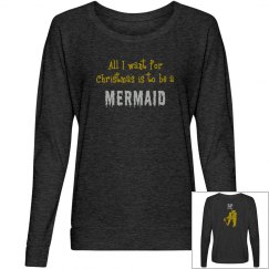 Mermaid For Christmas