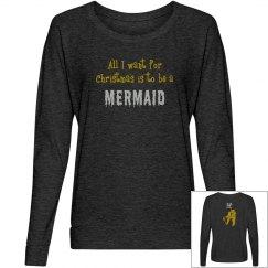 Mermaid For Christmas