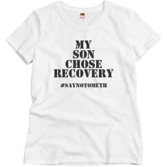 Son recovery womans shirt