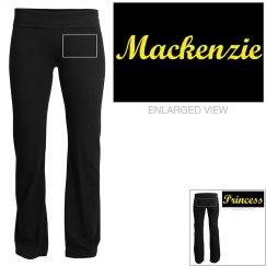 Mackenzie, yoga pants