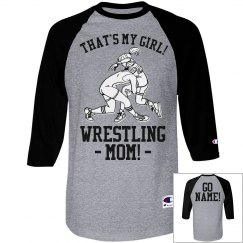 Custom Wrestling Mom