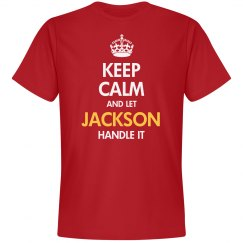 Keep calm and let jackson handle it