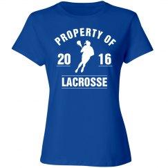 Property of 2016 lacrosse