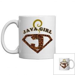 Java Girl Coffee Humor Mug 2