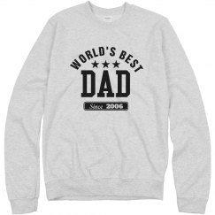 Best dad since 2006