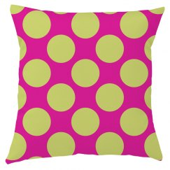 Large Polka Dot Cushion Cover