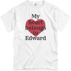 Heart belongs to Edward