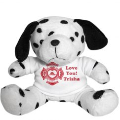 Firefighter Girl's Puppy